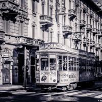 Milano Street Photo - Tram a MIlano
