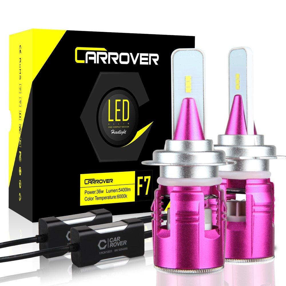 Car rover lampadine h7 led 10800lm fabry photo for Lampadine h7 led